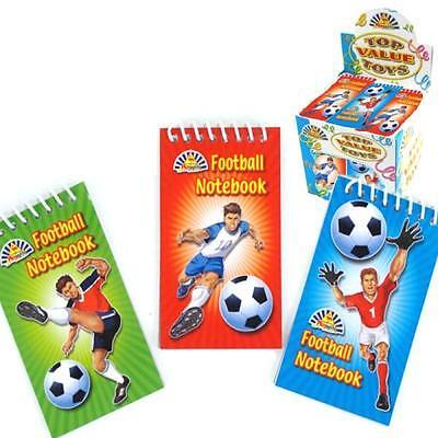 Wholesale Job Lot 360 Football Notebooks *Boys *Girls *Kids *Toys