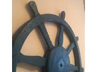 Blue Ships Wheel