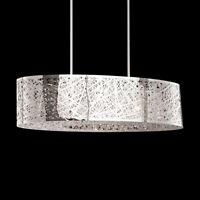 New 8 Bulbs Crystal Chandelier Bird Nest Ceiling Light Island