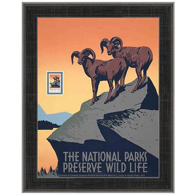 USPS New WPA - National Parks Framed Art
