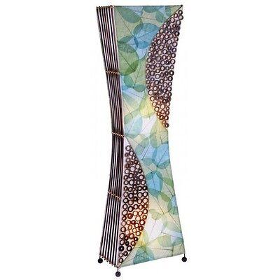 MALANG elegante Bambus Lichtsäule Stehlampe BALI LAMPE 100 cm handgefertigt (Säule Stehlampe)