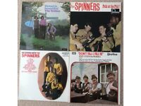 Four classic Folk LPs