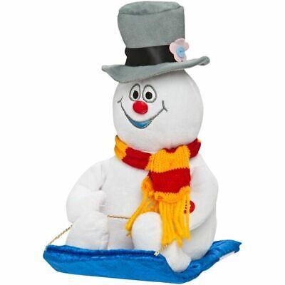 Gemmy 2012 Animated Frosty The Snowman Wobblin' Toboggan Sledding