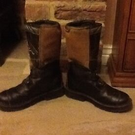 RST motocross/trials boots size 4