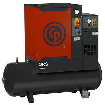 Chicago Pneumatic 10-HP 120-Gallon Rotary Screw Air Compressor w/ Dryer