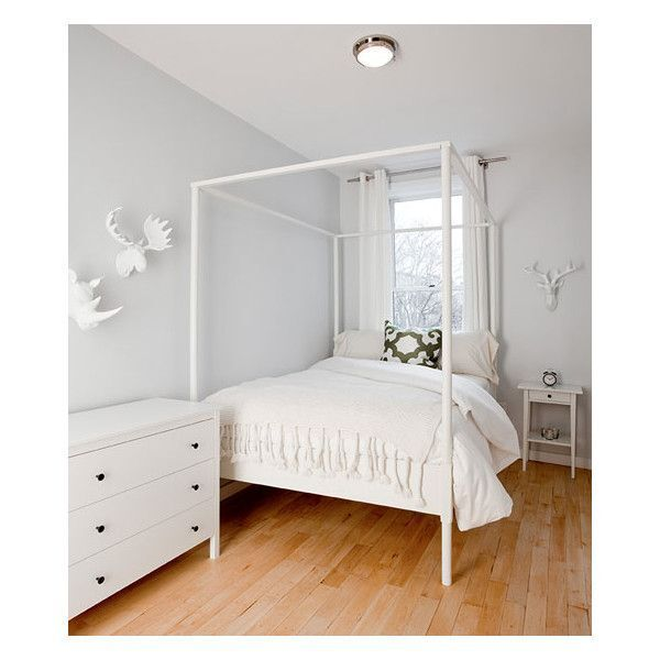 Ikea 4 Poster Double Bed And Mattress