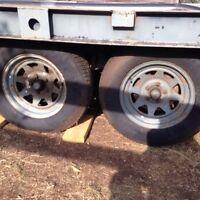 18ft car trailer