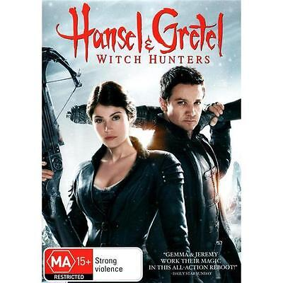 HANSEL AND GRETEL: Witch Hunters : NEW DVD