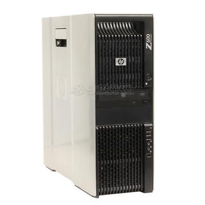 HP Workstation Z600 QC Xeon E5620 2,4GHz 4GB 500GB