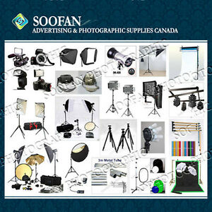 Backdrop Stand Flash Strobe Led Fluorescent Light PhotoAccessory