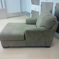 Beige Lounge Chair for sale