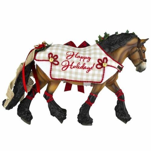 <>< 700123 Yuletide Breyer 2020 HOLIDAY HORSE 24 in series traditional Christmas