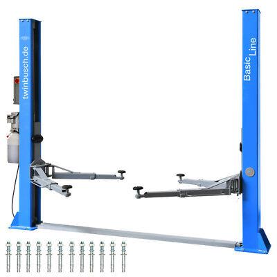 Twin Busch ® NEUE 2 Säulen Kfz Hebebühne 4200kg - BASIC LINE - TW 242 A