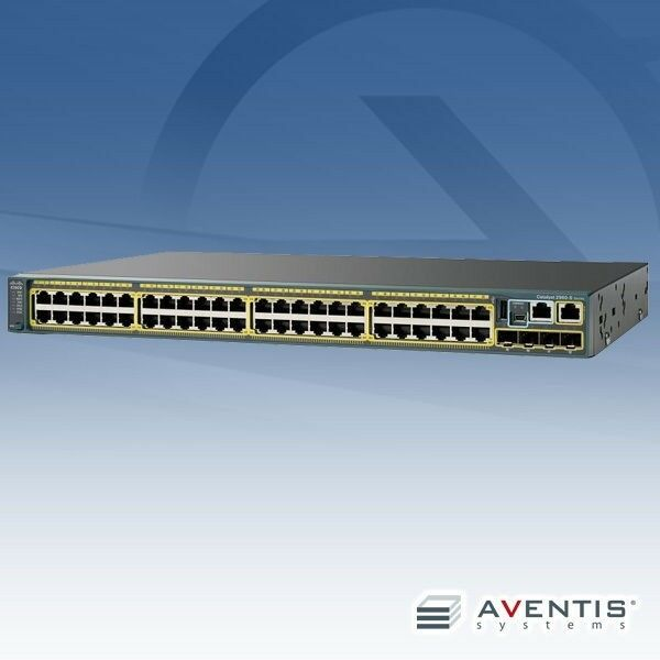 New Cisco Catalyst 2960 Ws-c2960s-48fpd-l Gigabit Managed Ethernet Switch