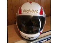 Franck Thomas XL motorcycle helmet