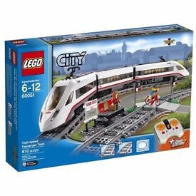 LEGO City 60051 High-speed Passenger Train. Brand New. Sealed.