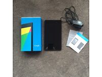 ***** REDUCED FOR QUICK SALE ***** Google Nexus 7 Tablet 32GB