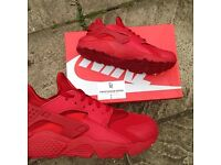 Nike Huarache varsity red UK 8.5