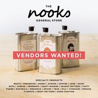 THE NOOKS General Store-VENDORS WANTED!
