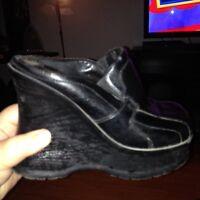 Chaussure semelle compenser