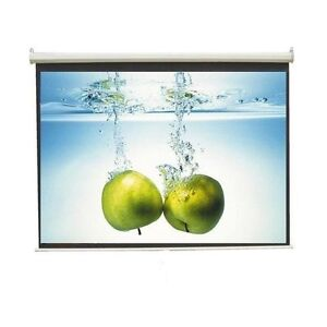 WALL-TYPE-9-Ft-x-5-Ft-16-9-FORMAT-TECHNOLITE-PROJECTOR-SCREEN-A-GRADE