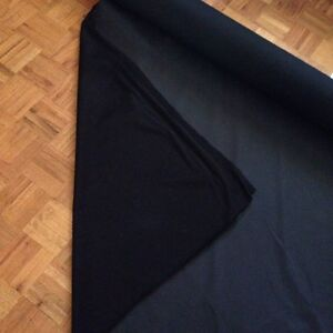 Black and grey upholstery fabric