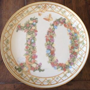 RECO NUMBERED COLLECTOR PLATES by JENA HALL -10 year anniversary