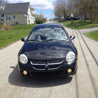 200DODGE NEONSX SEDAN 4 CYL AUTO 77000 KMS LOCKEPORT NS