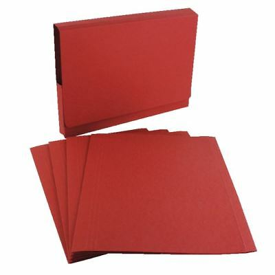 Guildhall Red Square Cut Folder (Pack of 100) FS315-REDZ [GH14100]