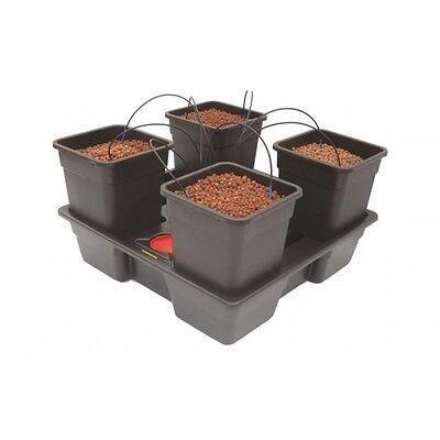 Pot Dripper-system (Atami Wilma 4 Pot Complete Dripper System Grow Kit Hydroponics 11 ltr pots 75/75)