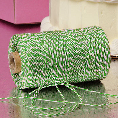 Green & White Duo 4-ply 100% Cotton Baker's Twine *Your Choice of Length*](Baker's Twine)