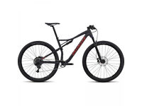 Specialized Men`s EPIC COMP Mountainbike - 2018 - satin slate nordic red