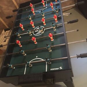 Foosball and game table
