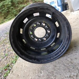 Steel chevy offset rims