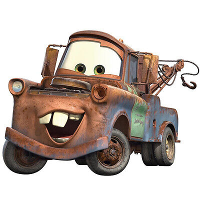 Disney Pixar Cars Mater Wall Decal Large  On Sale