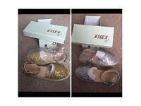 2 pair of ladies shoes Bnwt