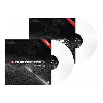 Gebraucht, Native Instruments Traktor Scratch Timecode Vinyl MK2 white (Paar) gebraucht kaufen  Dresden