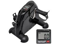 Mini Pedal Indoor Exercise Bike Leg/Arm Stationary Training LCD Display