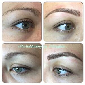HAIR STROKE EYEBROWS ($279 holiday special) Cambridge Kitchener Area image 2