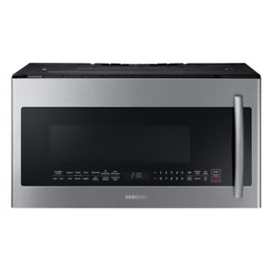 Samsung 30-in 2.1 cb ft Stainless Steel Over-The-Range Microwave