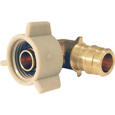 3-pex Crimp Pipe Brass Fitting Insert Type A 12 X 12 Swivel Elbow Epxfe12s