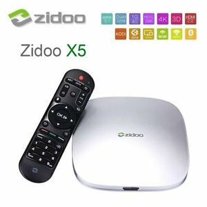 Android TV - ZIDOO X5 Android 5.1 Lollipop S905 Quad Core Stratford Kitchener Area image 1
