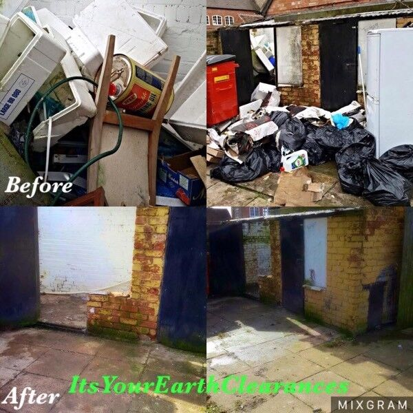 Cheap rubbish and junk removal / clearance of all types carried out