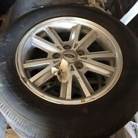 2006 Ford Mustang 16 inch wheels and brand new tires