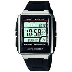 Japan  CASIO  WAVE CEPTOR Waveceptor radio clock MULTIBAND 5 mens watch F/S