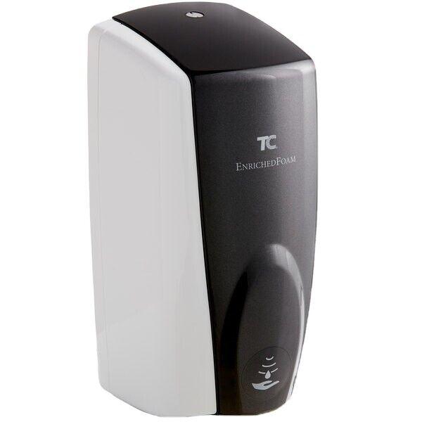 TC Rubbermaid AutoFoam 1100ml Soap Dispenser 750138 White/Black Touchless *NEW*