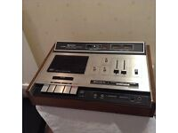 SONY STEREO CASSETTE RECORDER TC-161SD