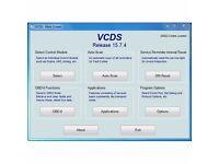 LATEST VAG COM VCDS 15.7.4 HEX CAN USB VW AUDI SEAT SKODA OBD II CHECK KK AIRBAG FUALT