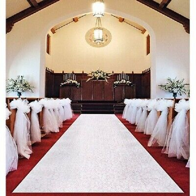 Way to Celebrate Aisle Runner 2.5' W x 120' L ( pull cord) Free Shipping!