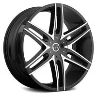 "20"" Black Machined rims 5X115 5X120 ONLY$890 #V8"